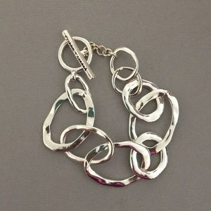 Chloe + Isabel Organic Link Toggle Bracelet
